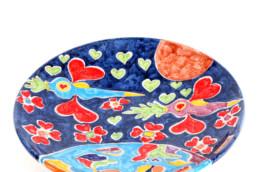 francesco cuomo - Piatto in ceramica - Maria Laura Berlinguer - Stile Italiano Arte Design Home Made in Italy.jpg