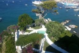 Villa Frisio Ponza - Maria Laura Berlinguer Stile Italiano - Case Italiane in affitto e in vendita - vacanze italiane