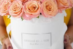 Rose in scatola - Dream in a Box - Fiori - Maria Laura Berlinguer - Stile Italiano - Made in Italy - Fatto in Italia - suggerimenti - italian Style - donna - fashion - regalo - gift