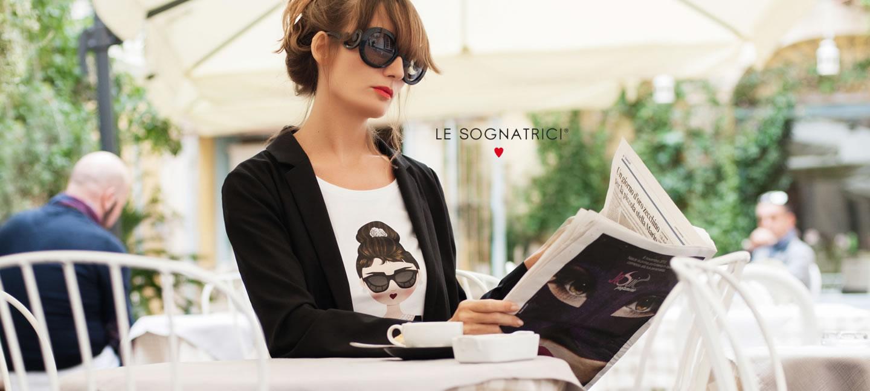 Le Sognatrici T Shirt Maria Laura Berlinguer Stile Italiano