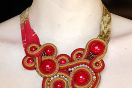 Soutache di Stefania Cambule gioielli fatti a mano - maria laura berlinguer - stile italiano - made in italy - moda donna - fashion - glamour - arte - design