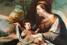 Restauro - MA Restauri vivere di arte restaurando i beni culturali - Madonna Con Bambino - Maria Laura Berlinguer Stile Italiano - Made in Italy arte arts