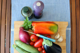 chef vegani - Luciana Milia - Maria Laura Berlinguer stile italiano - food - foods - verdure - cucina - consigli e suggerimenti - orata spensierata