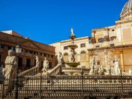 10 cose da vedere a Palermo - Maria Laura Berlinguer - Scoprire l'italia - made in italy - bellezze italiane - viaggi - consigli e suggerimenti - stile di vita - La Fontana Pretoria