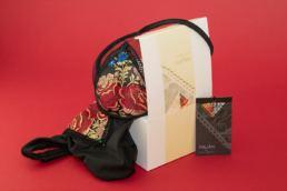 costumi da bagno di classe ARUAM - Maria Laura Berlinguer - Stile Italiano - Broccato sardo - fatto in italia - made in italy - moda donna - moda mare - fashion - colors - glamour