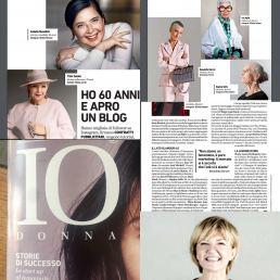 Dicono di me - Maria Laura Berlinguer Stile Italiano - Corriere IO DONNA