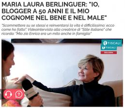 Dicono di me - Maria Laura Berlinguer Stile Italiano - Tiscali copia