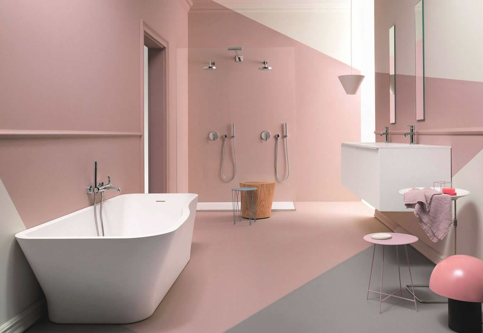 Rubinetteria Vasca Da Bagno Zucchetti : Zucchetti kos il design made in italy per il bagno