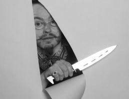 Tiziano Paulon il design italiano in cucina - coltello design - food - maria laura berlinguer stile italiano - made in italy - fatto in italia - artigianato italiano
