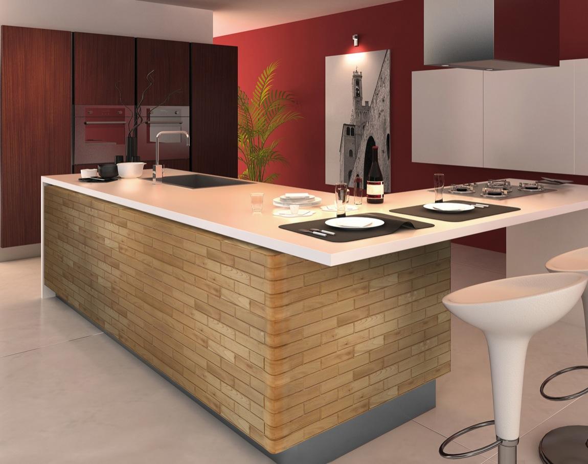 Blocco il mattocino in legno per la casa brevetto made for Sito arredamento design