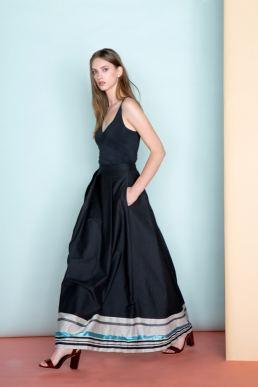 Abiti da sera Made in Italy collezione di opificio modenese - Moda donna - fashion - maria laura berlinguer stile italiano fatto in italia - artigianato italiano - glamour