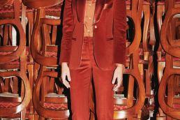 Sartoria 74 smoking da donna - Francesca Ceccarelli - Maria Laura Berlinguer stile italiano made in italy fatto in italia artigianato italiano moda donna fashion