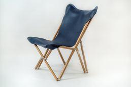 Tripolina Design poltrona bella e comoda - Maria Laura Berlinguer stile italiano - fatto in italia - sedia - design - artigianato italiano - fatto a mano - sedia pelle - arredamento arte