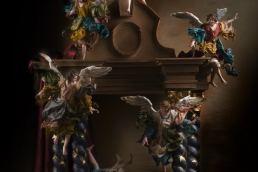 Ulderico Pinfildi e il presepe napoletano ispirato a Sant'Ignazio di Loyola Maria Laura Berlinguer Stile Italiano Made in italy artigianato italiano arte natale