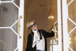 Amenirdis maglieria preziosa - Maria Laura Berlinguer Stile Italiano moda Made in Italy artigianato italiano Sabina Paganelli sartoria esclusiva moda donna